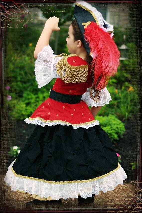 Sample Sale Size 4/5/6 Boutique Soldier Costume Dress Set