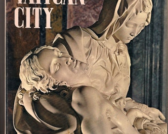 Vintage Vatican City Art Book tons of illustrations