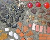Mini Patio Mix Kit For Miniature Gardens, Fairy or Gnome Gardens, Create Paths or Patios That Won't Wash Away