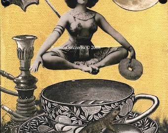 Java Goddess Print