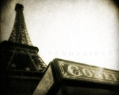 Paris Photography, Eiffel Tower photo, Eiffel Tower decor, Black and white photography, Paris Photograph,Fine Art Photography