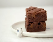 Chocolate Espresso Brownie with Dulce de Leche