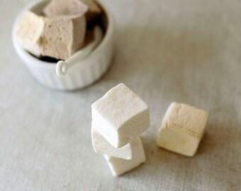 Handmade Cardamom Marshmallows, 1 dozen gourmet marshmallows