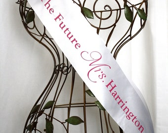 Personalized The Future Mrs. Sash - Choose Your Colors
