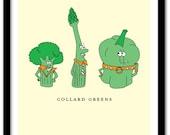 Collard Greens Art Print 8x10 (AP177)