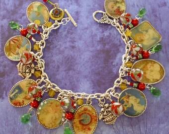 Victorian New Year Charm Bracelet