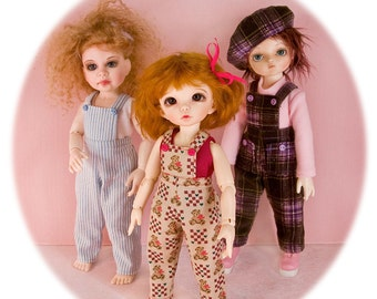 PDF pattern;  Gracefaerie pattern 53- Perfect 10.  Multiple outfits for 1/6 or YOSD BJDs 10 - 10.5 inches
