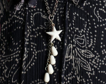 SALE Shooting Star necklace