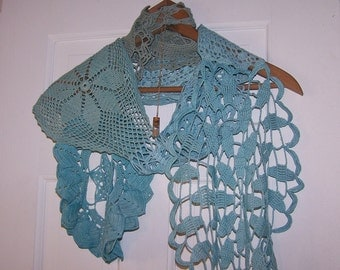 Lovely Vintage Crochet Scarf