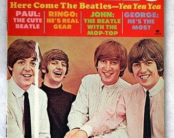 FREE SHIPPING 1978 Here Come The Beatles - Yea Yea Yea