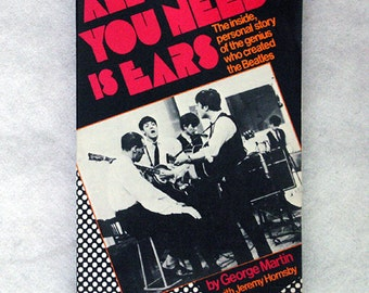 FREE SHIPPING 1979 All You Need Is Ears by George Martin
