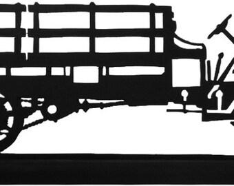 Antique Truck 1914 Model T Decorative Wood Silhouette  sttt005