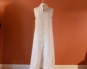 custom linen chipao robe made to fit petite to plus size listing