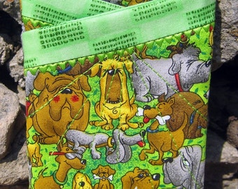 Eyeglass Case-Dogs