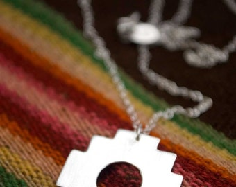 Chakana: Andean Inca Cross  (ready to mail) - necklace