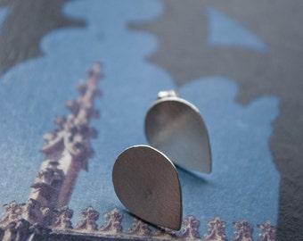 SALE: Espana nO. 18 // sterling silver tribal teardrop (ready to ship) - earrings