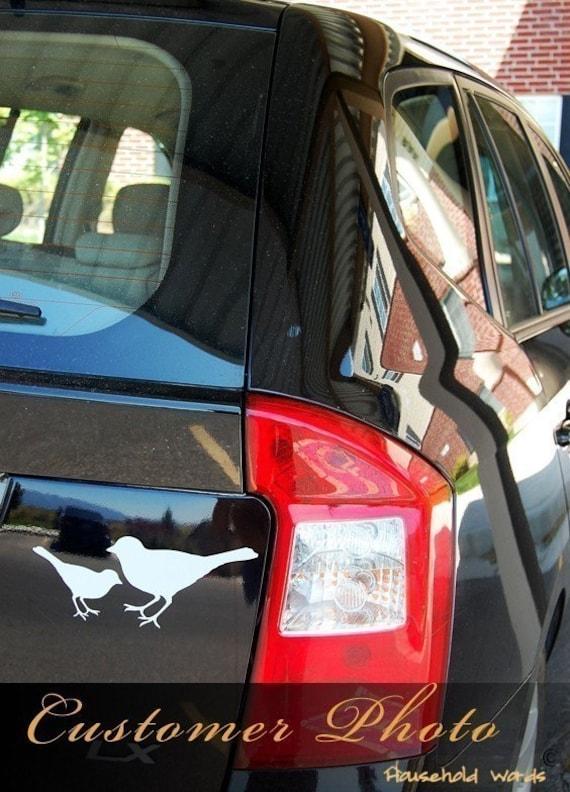 Bird Stickers Small Decals Bird Wall Decal Bird Decor Car - Modern decal sticker for carmodern car decals modern car stickers car stickers decals