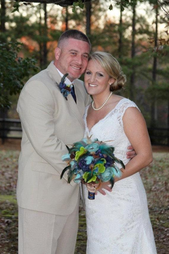 KALEIDOSCOPE Wedding Bouquet