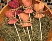 EPATTERN -- Lollipop Hearts Tucks Ornies Bowl Fillers
