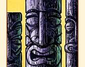 Elders- Tiki Wall Decor