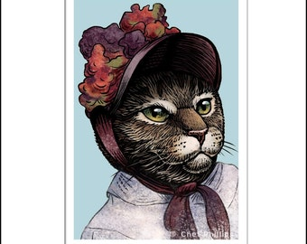 Mary Catssatt signed print