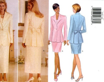 Butterick 5359 Evening Bridal Jacket Top and Skirt Size 18 20 22 UNCUT Sewing Pattern 1998