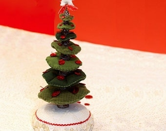 Felt Christmas Tree PDF Tutorial