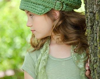 Toddler Newsboy Cap 1T - 2T Toddler Girl Newsboy Hat Toddler Boy Newsboy Olive Green Toddler Hat Toddler Girl Hat Toddler Boy Hat Army Green