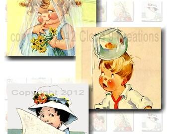 Charles Twelvetrees Kids Inchies Digital Collage Sheet