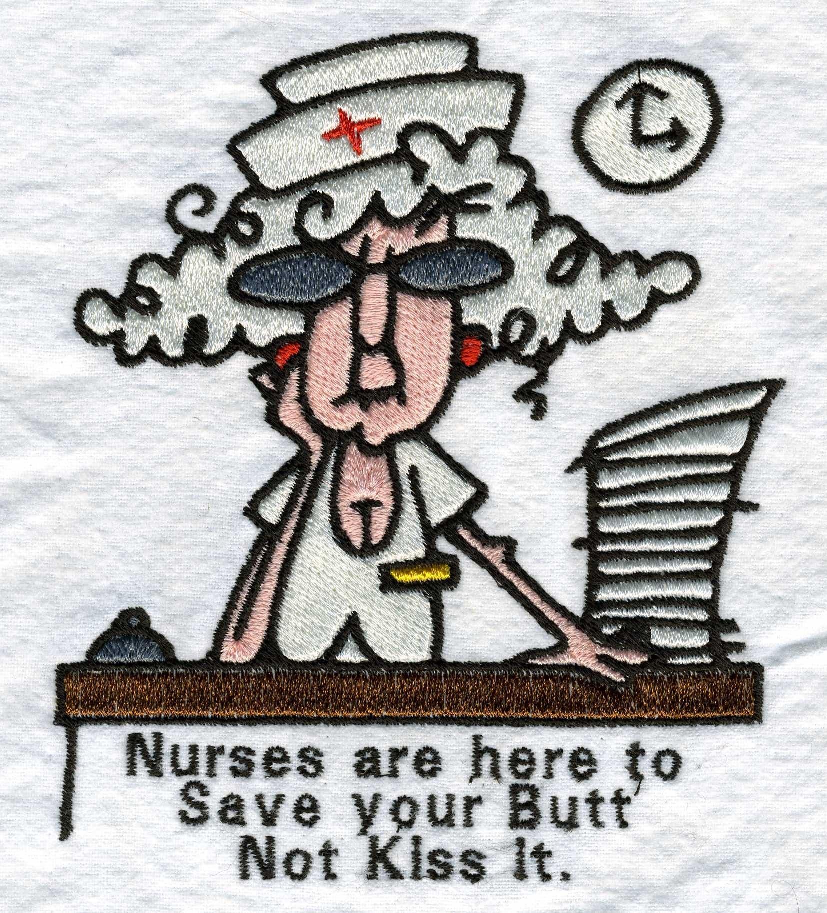 Nurse stella machine embroidery designs