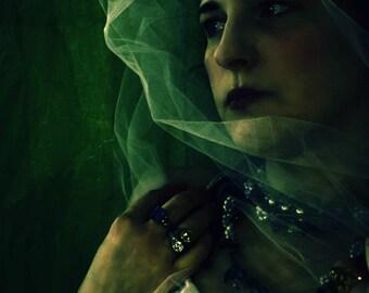 For Bogna, Photographic Portrait of a Woman, Regal, Fantasy, Fairy Tale Queen, Merle Pace