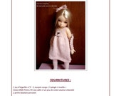 23. English and  French INSTANT DOWNLOAD PDF knitting Pattern yosd bjd artist dolls 10""