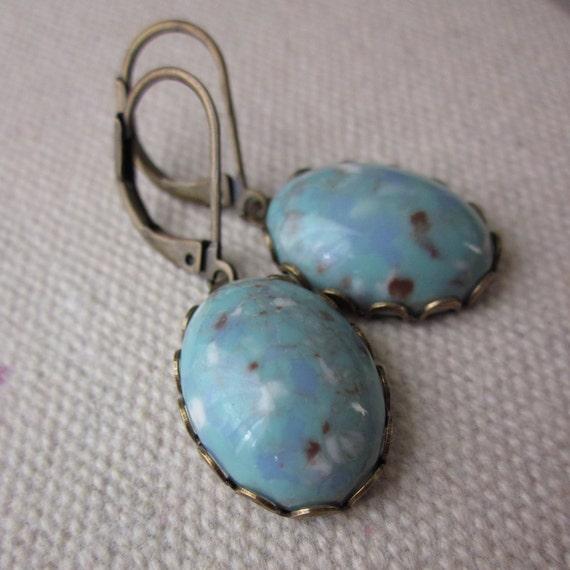 Mockingbird Egg earrings