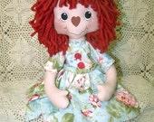 PDF/Primitive Raggedy Bree Annie Doll Pattern Et