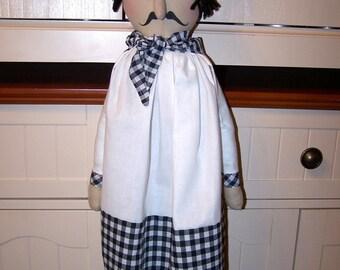 Chef Pierre  Bag Holder Doll  New Pattern Et