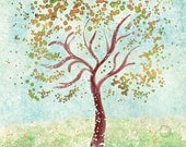Tree Art - Everything in it's Own Place - 8x10