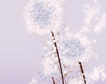 Perennial Moment (lavender) - 12x18 Print