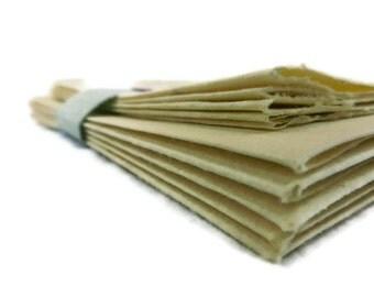 Yellow Handmade Paper Stationery Set