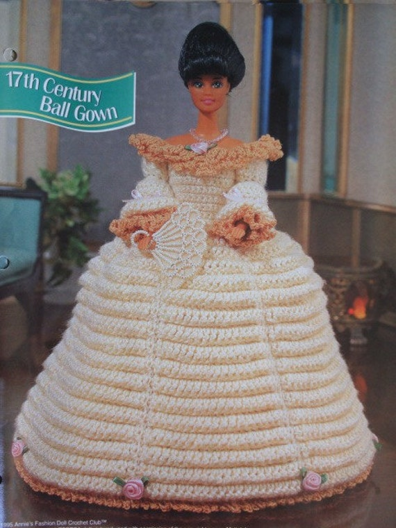 17th Century Ball Gown Crochet Pattern For 11 By