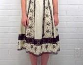 Vintage 70's Skirt, Prairie, Boho