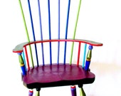 CLEARANCE 40% OFF Windsor Style Doll Chair Hand Painted