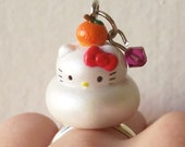 SALE Hello Kitty Ring -- Hello Kitty Mochi Ring -- Hello Kitty Jewelry -- Mochi Ring