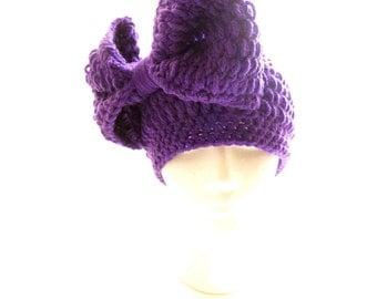 Little Bow Peace Crocheted HeadPeace