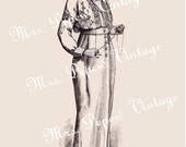 Vintage Fashion Plate From 1914 Digital Copy for Printing, Framing, Scrapbooking etc. -INSTANT DOWNLOAD-