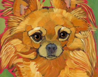 Chihuahua No. 8 - magnets, coasters and art prints
