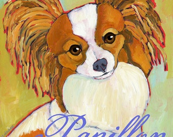 Papillon No. 1 - magnets, coasters and art prints