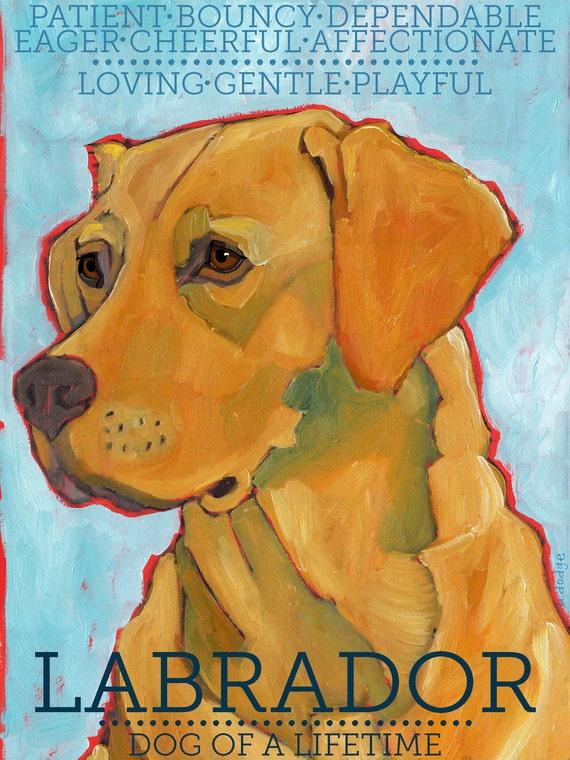 Labrador Retriever No. 3 - magnets, coasters and art prints