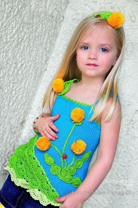 Вязание для девочек своими руками