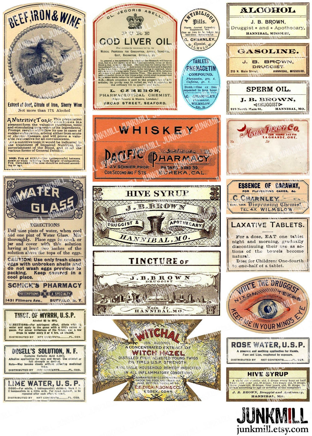 graphic relating to Free Printable Vintage Apothecary Labels named Printable Traditional Wine Labels