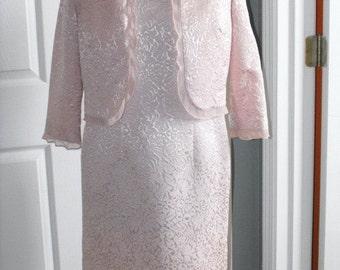 Women Vintage Dresses, Vintage Dresses for Women, Ladies Dresses, Dresses for Ladies, Plaza South Two-Piece Jacket Dress